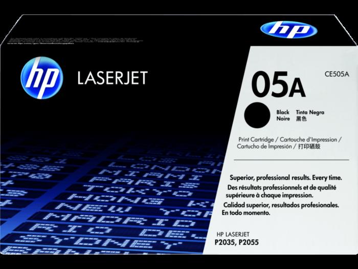 HP 05A 黑色原廠 LaserJet 碳粉盒