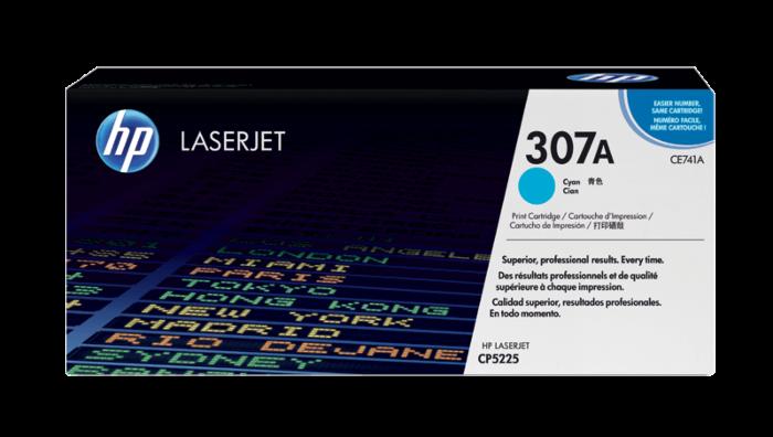 HP 307A Cyan Original LaserJet Toner Cartridge