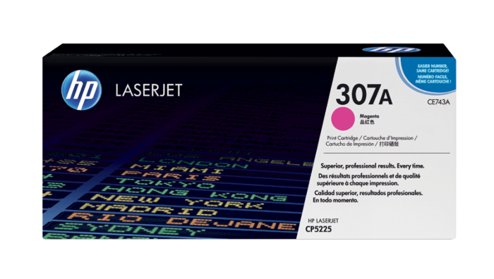 HP 307A 洋紅原廠 LaserJet 碳粉盒
