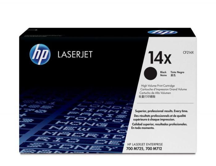 HP 14X 高容量黑色原廠 LaserJet 碳粉盒