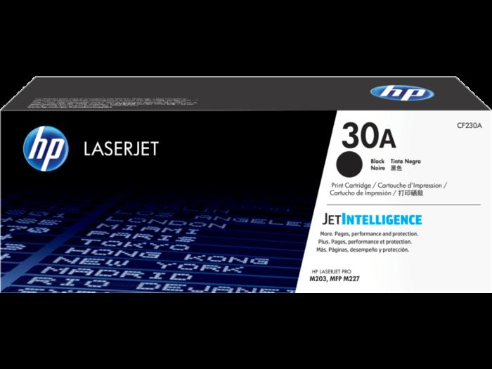 HP 30A 黑色原廠 LaserJet 碳粉匣
