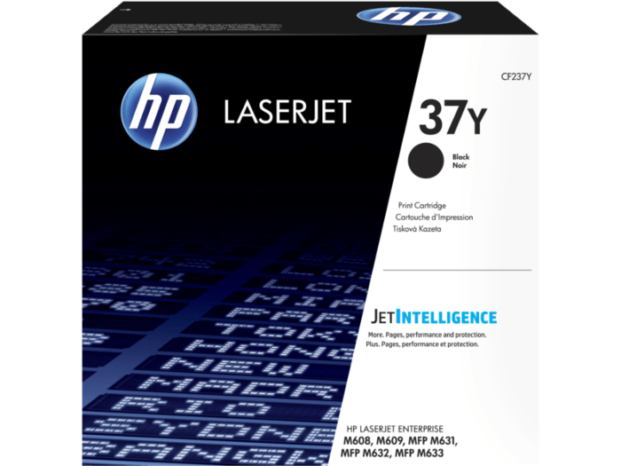 HP 37Y 超高打印量黑色原廠 LaserJet 碳粉匣