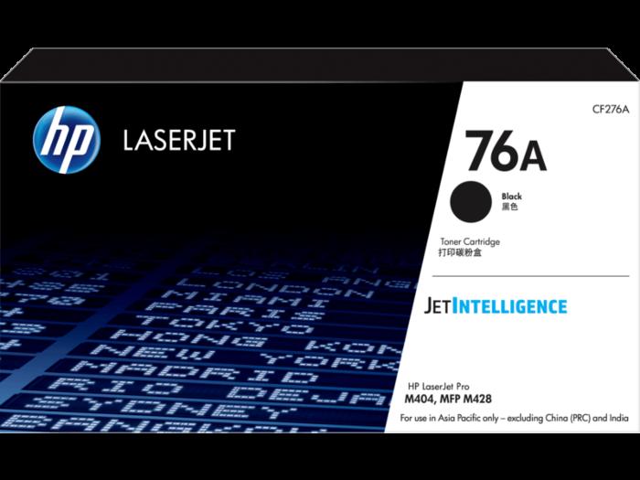 HP 76A LaserJet 黑色原廠 碳粉匣