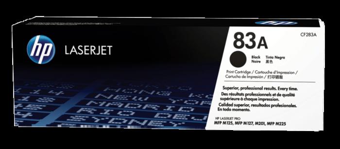 HP 83A 黑色原廠 LaserJet 碳粉盒