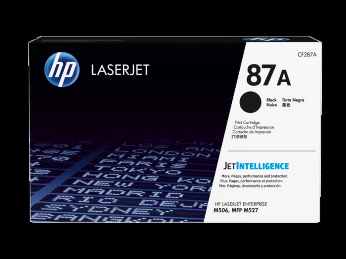 HP 87A 黑色原廠 LaserJet 碳粉盒