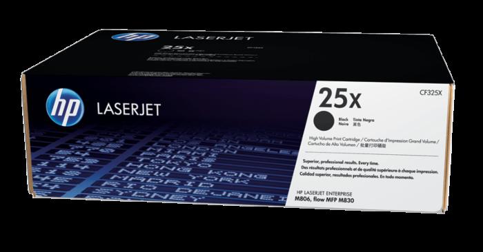 HP 25X 高容量黑色原廠 LaserJet 碳粉盒