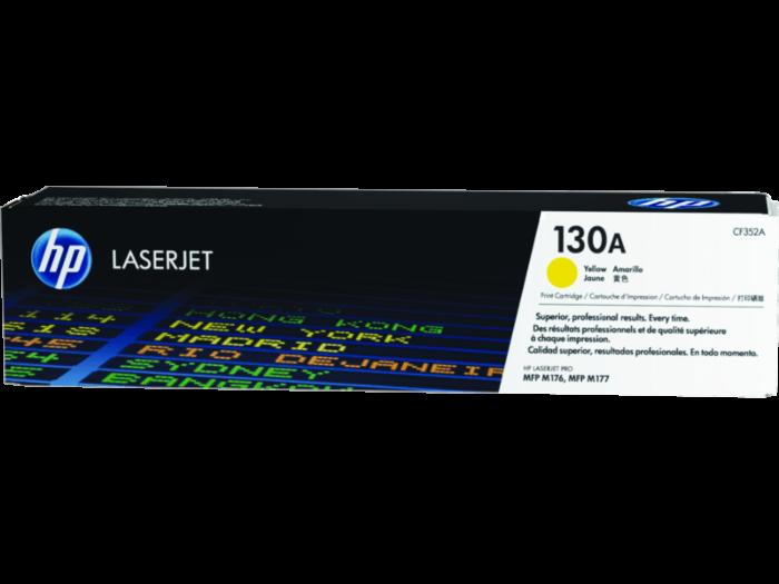 HP 130A 黃色原廠 LaserJet 碳粉盒