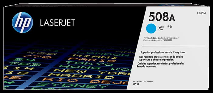 HP 508A 靛藍原廠 LaserJet 碳粉盒
