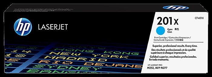 HP 201X 高打印量靛藍原廠 LaserJet 碳粉盒
