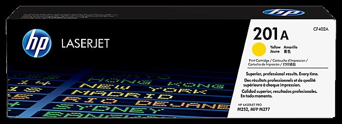 HP 201A 黃色原廠 LaserJet 碳粉盒