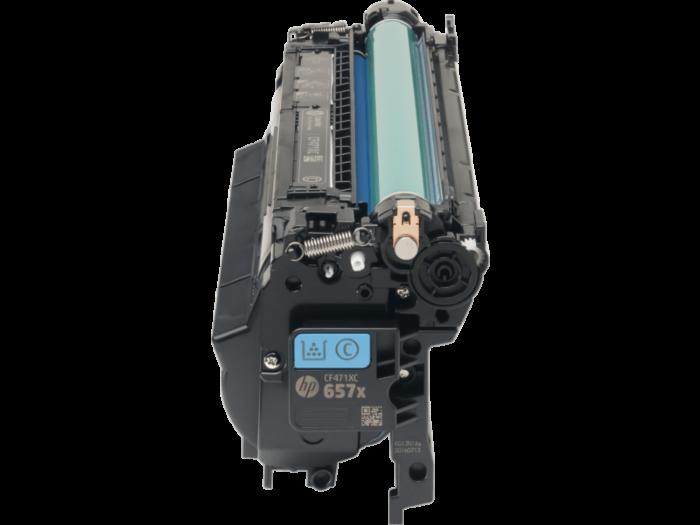 HP 657X 高打印量靛藍原廠 LaserJet 碳粉盒