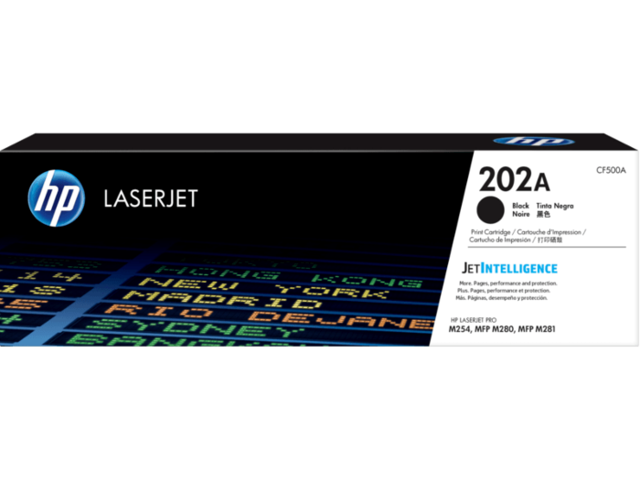 HP 202A 黑色原廠 LaserJet 碳粉匣