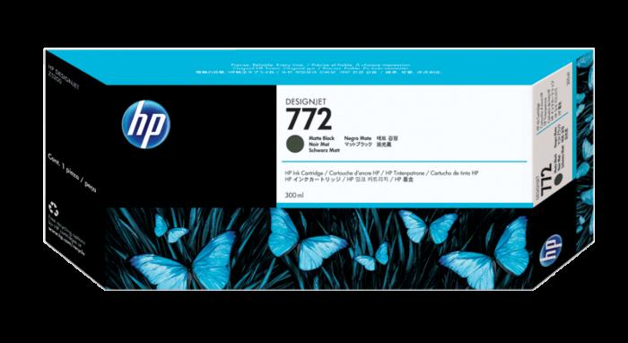 HP 772 300-ml Matte Black DesignJet Ink Cartridge