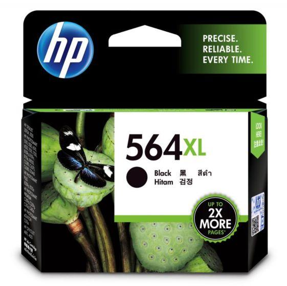 HP 564XL 高容量黑色原廠墨盒