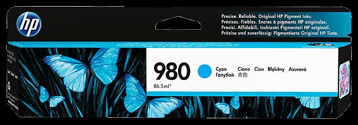 HP 980 綻藍原廠墨盒