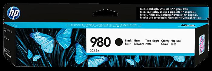 HP 980 黑色原廠墨盒