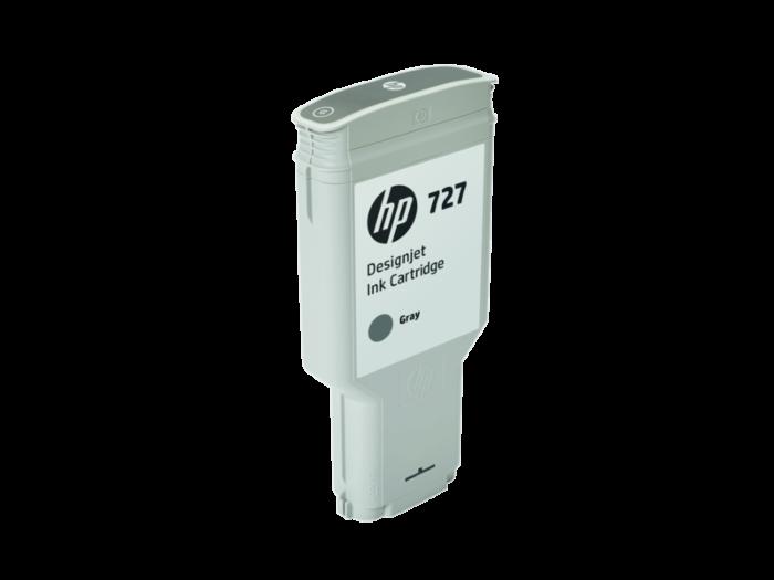 HP 727 300-ml Gray DesignJet Ink Cartridge