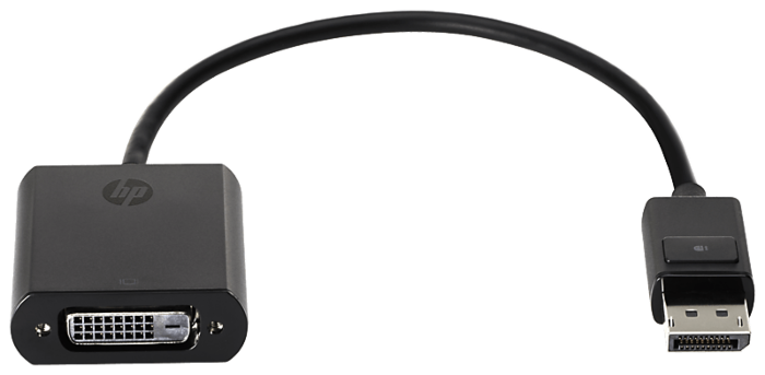 HP DisplayPort 轉 DVI-D 適配器