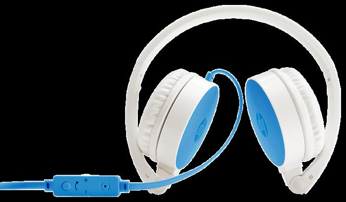 HP H2800藍色耳機