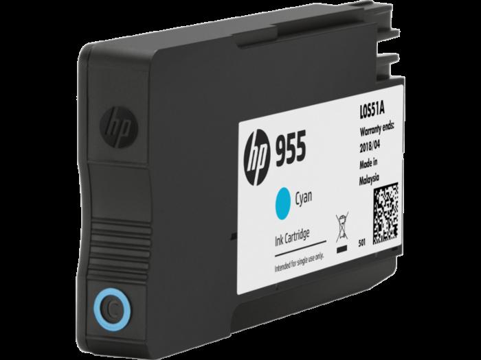 HP 955 綻藍原廠墨水盒