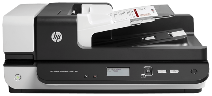 HP ScanJet Enterprise Flow 7500 平台式掃描器
