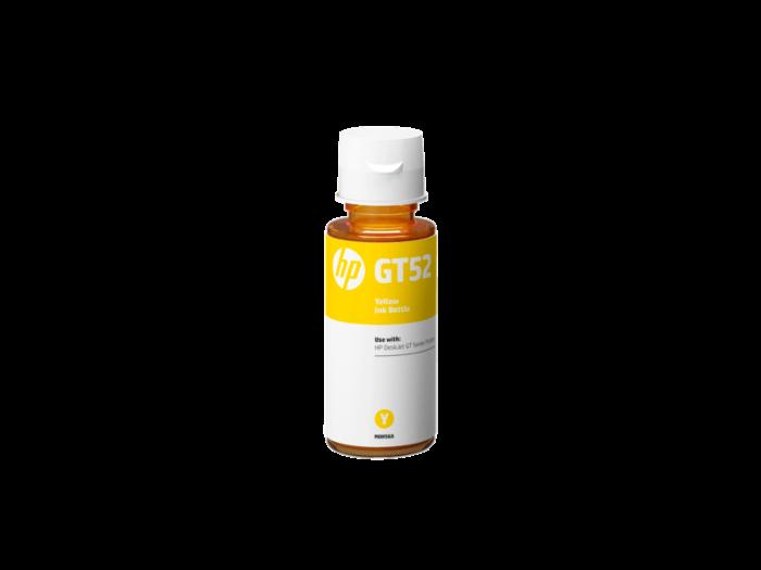 HP GT52黃色原廠墨水瓶