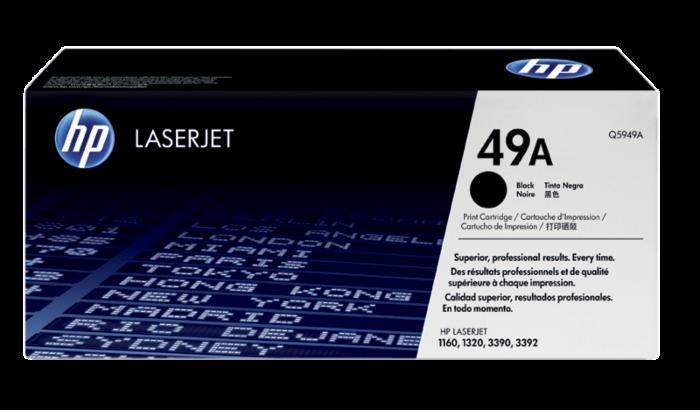 HP 49A 黑色原廠 LaserJet 碳粉盒