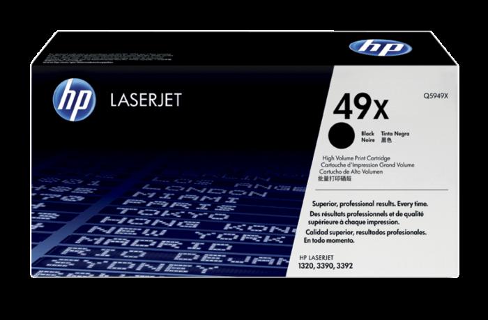 HP 49X 高容量黑色原廠 LaserJet 碳粉盒