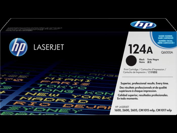 HP 124A 黑色原廠 LaserJet 碳粉盒