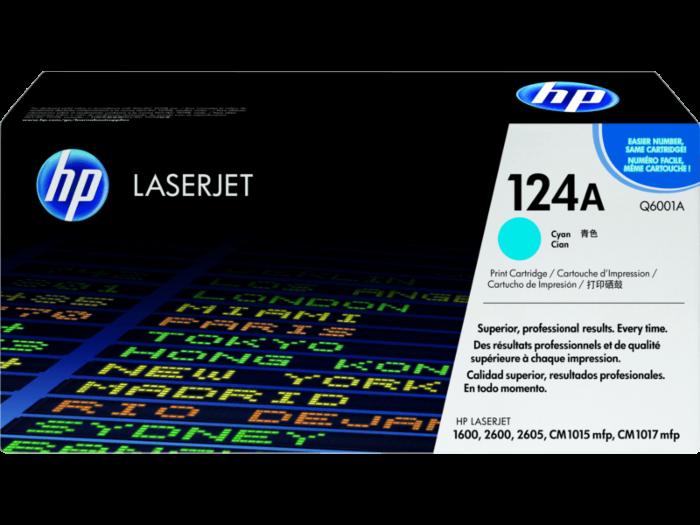 HP 124A 綻藍原廠 LaserJet 碳粉盒