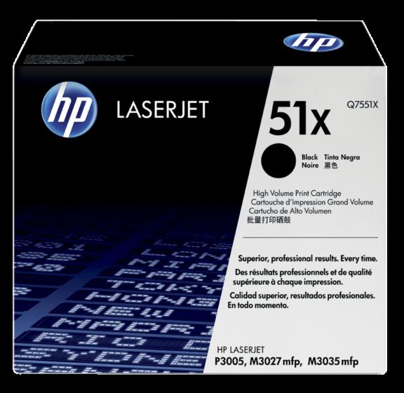 HP 51X 高容量黑色原廠 LaserJet 碳粉盒