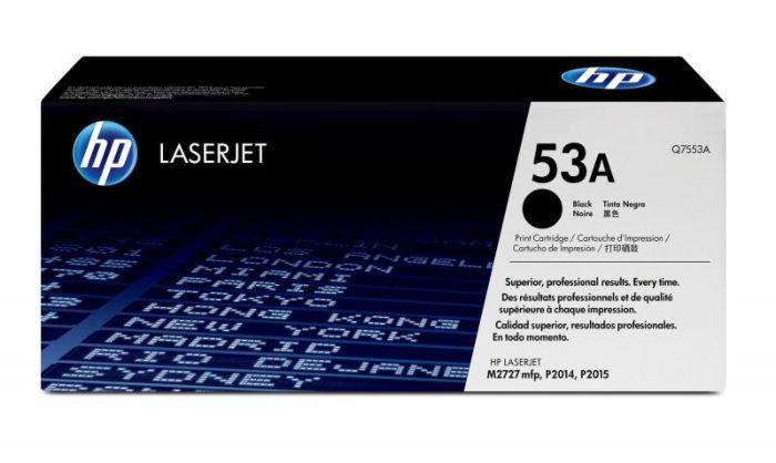 HP 53A 黑色原廠 LaserJet 碳粉盒