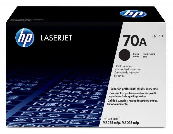 HP 70A LaserJet 黑色原廠碳粉匣