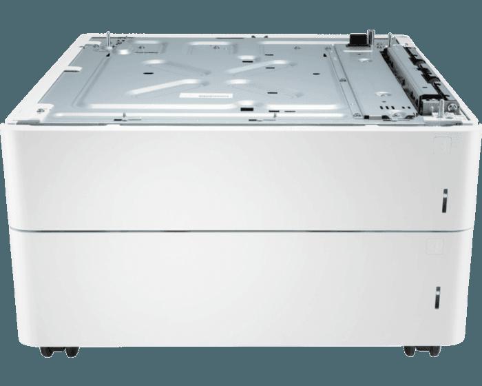 HP Color LaserJet 2x550-sheet 輸紙器及支架