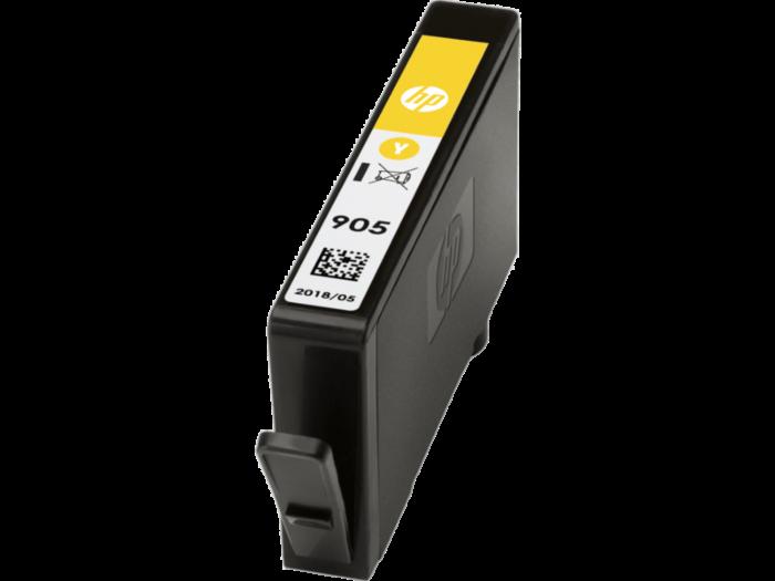 HP 905 黃色原廠墨水盒