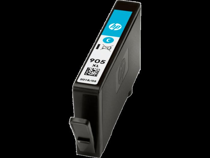 HP 905XL 高打印量綻藍原廠墨水盒