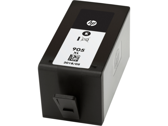 HP 905XL 高打印量黑色原廠墨水盒