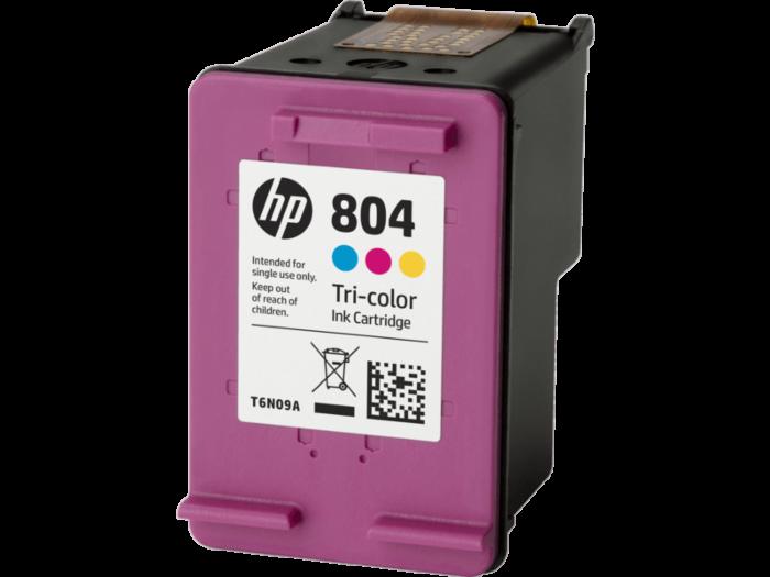HP 804 三色原廠墨盒