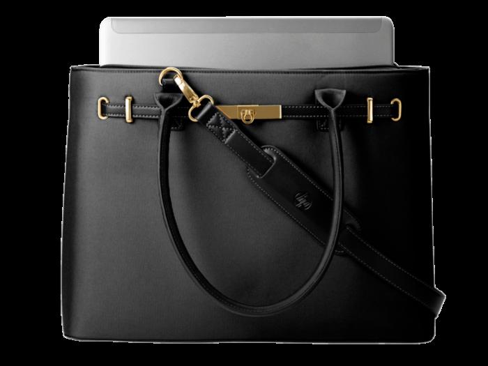 HP 15.6 Black Premium Tote