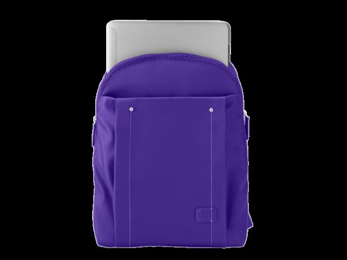 HP 14 吋女裝紫色背帶背包