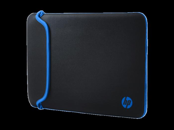HP 14 黑色/藍色橡膠保護套