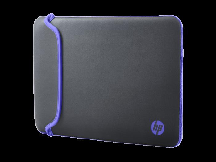 HP 14 灰色/紫色橡膠保護套