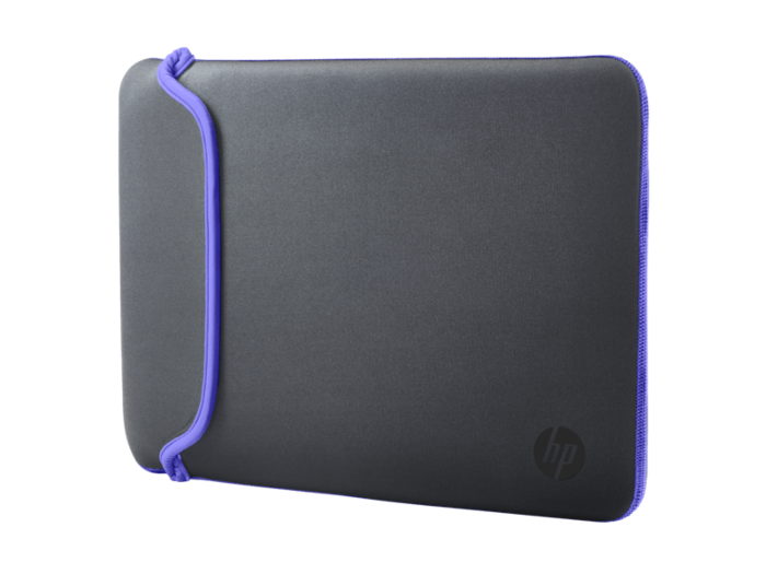 HP 15.6 Gray/Purple Neoprene Sleeve
