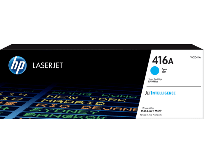 HP 416A LaserJet 青色原廠碳粉匣