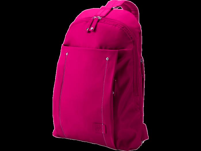 HP 14 Women Sling Pink Backpack