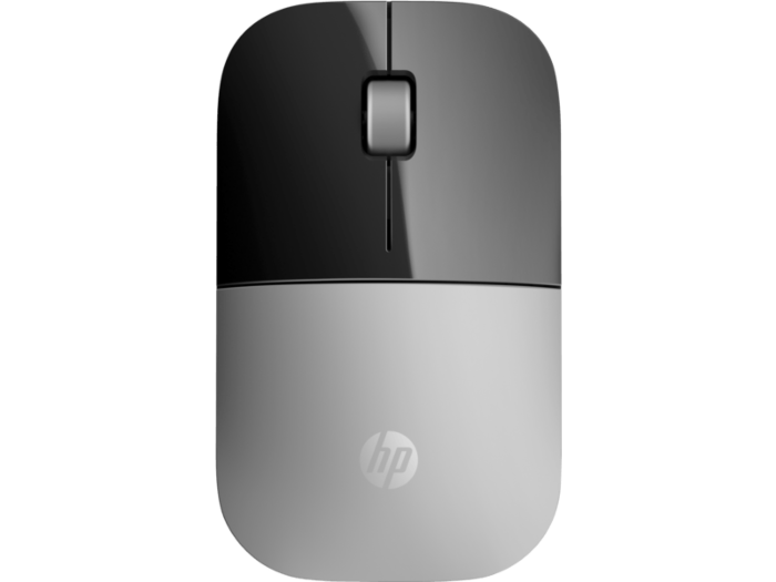HP Z3700 Silver Wireless Mouse