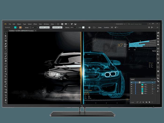 HP Z4342.5 英吋 4K UHD 顯示屏