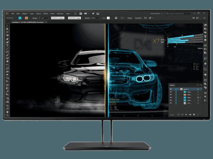 HP Z3231.5 英吋 4K UHD 顯示屏