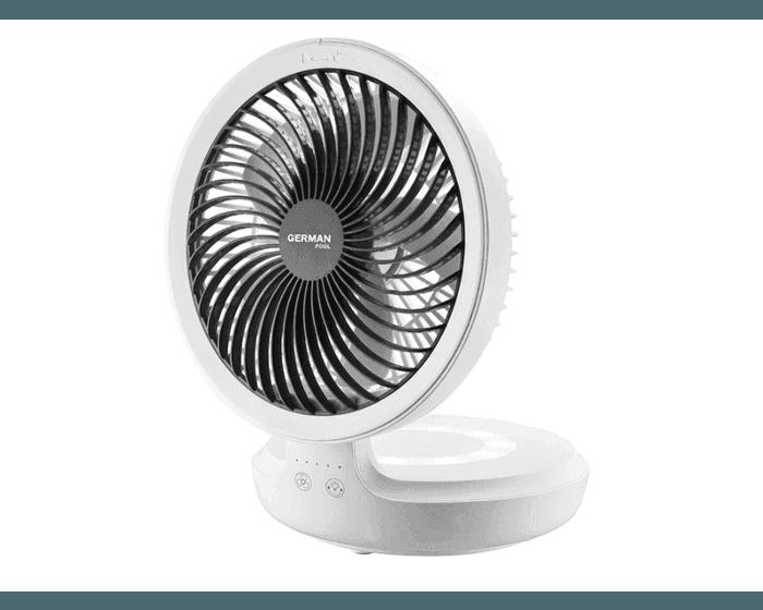 German Pool  EFU-108  2 in 1 Cordless Air Circulation Fan