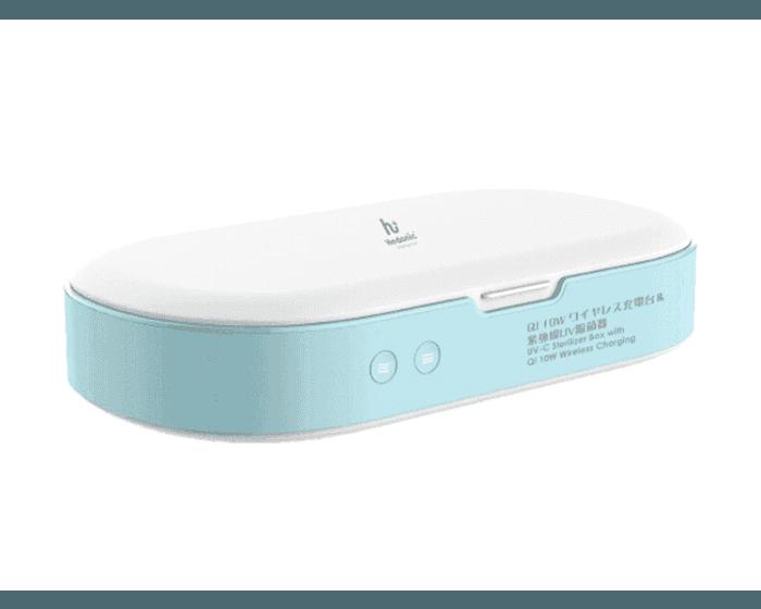 Hedonic 10W無線充電紫外光消毒盒  +Verbatim 外置充電器
